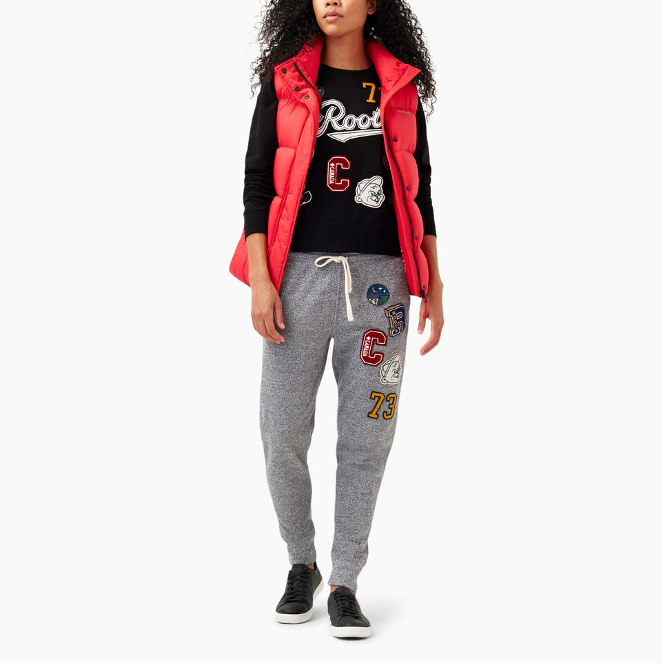 Roots-undefined-Varsity Roots Patches Crew Sweatshirt-undefined-B