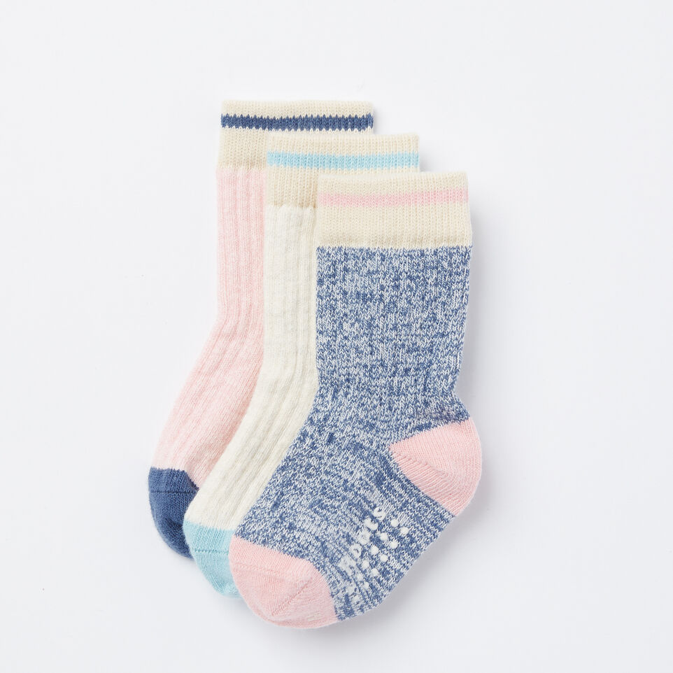 Roots-Toddler Cabin Sock 3 Pack