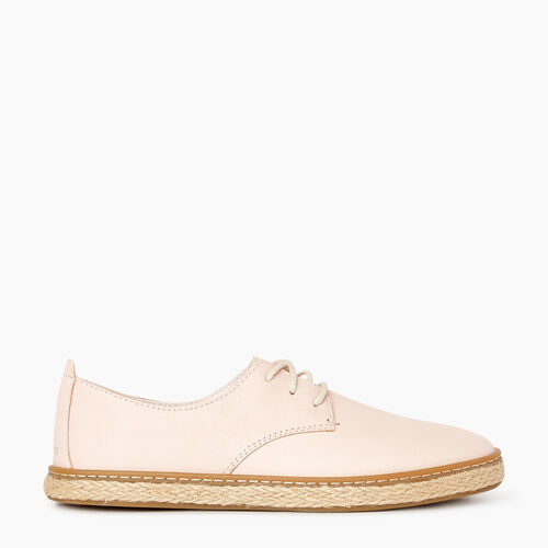 Roots-Footwear Categories-Womens Berwick Espadrille-Cloud Pink-A