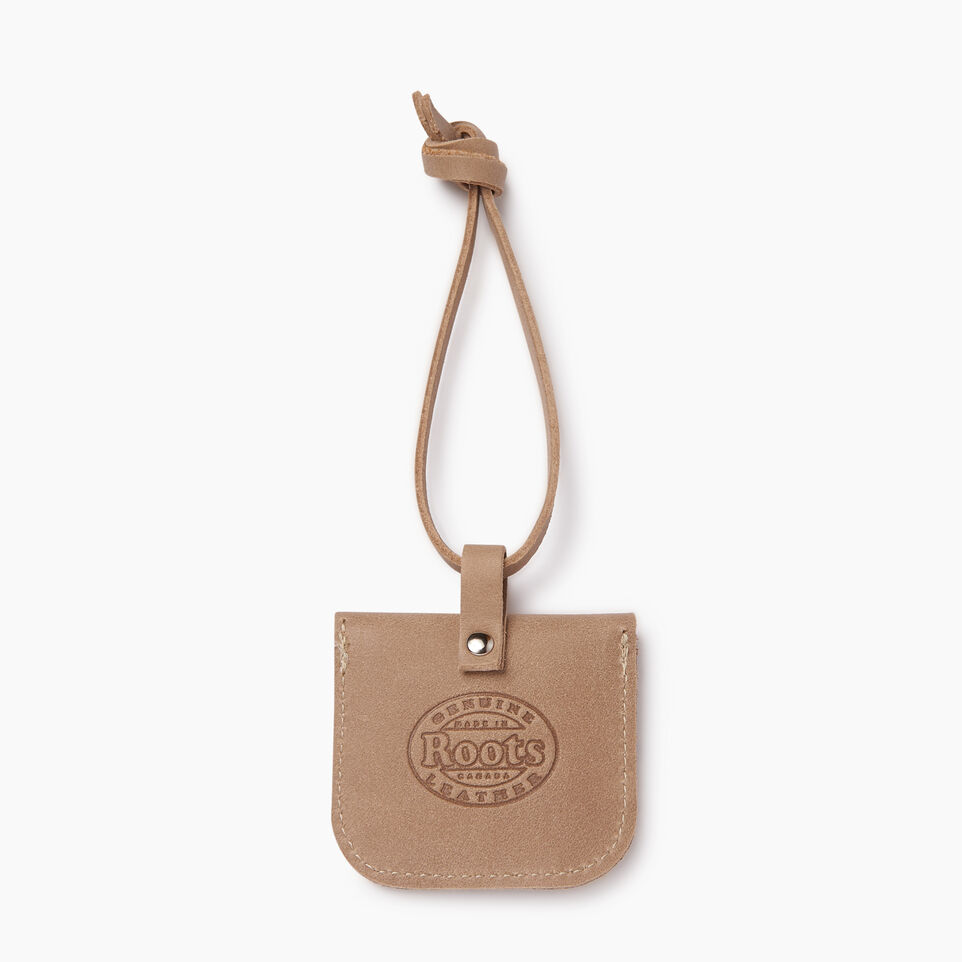 Roots-Leather  Handcrafted By Us Our Favourite New Arrivals-Leather Tie Pouch-Sand-C