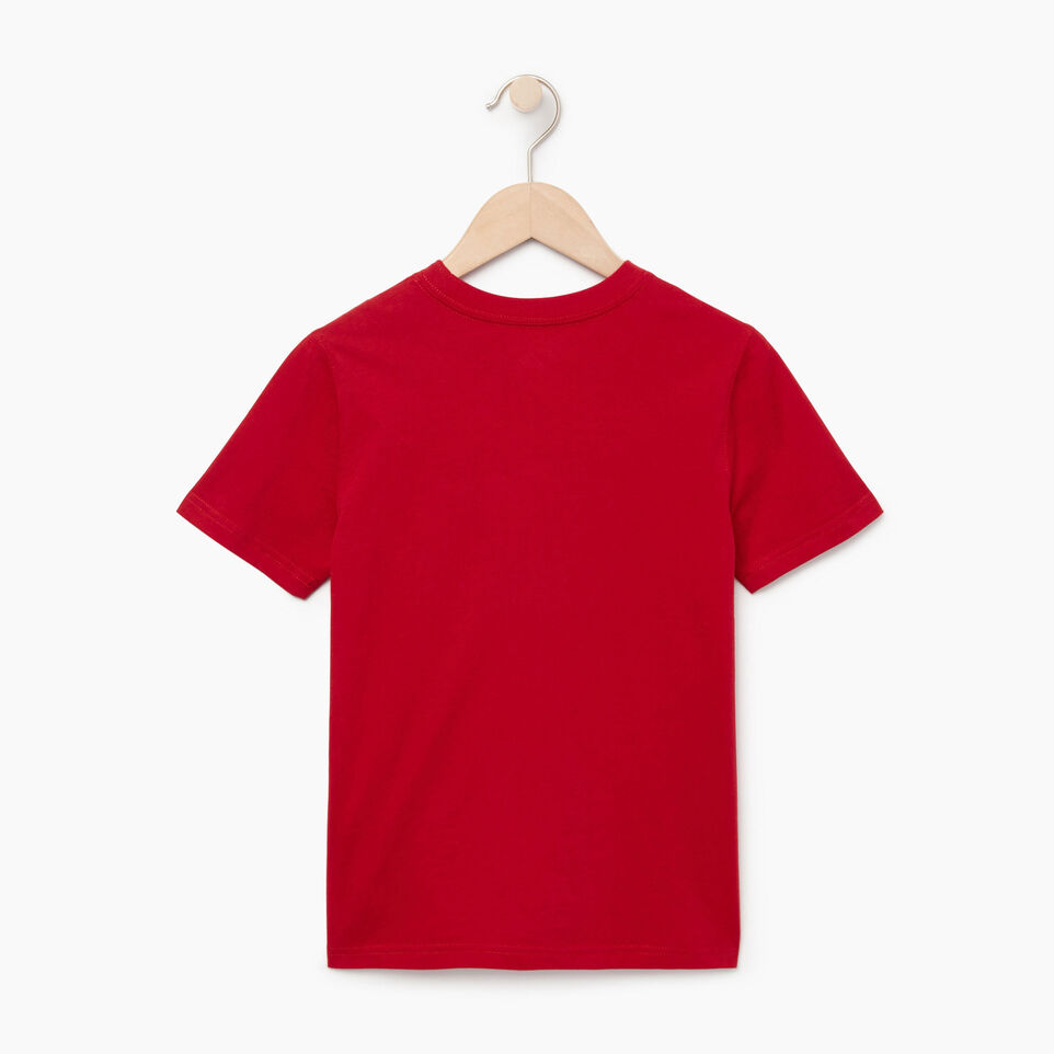 Roots-Kids Our Favourite New Arrivals-Boys Canada T-shirt-Sage Red-B