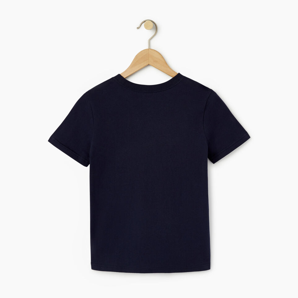 Roots-undefined-Boys Original Cooper Beaver T-shirt-undefined-B