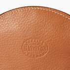 Roots-Leather New Arrivals-Small Euro Pouch-Caramel-C