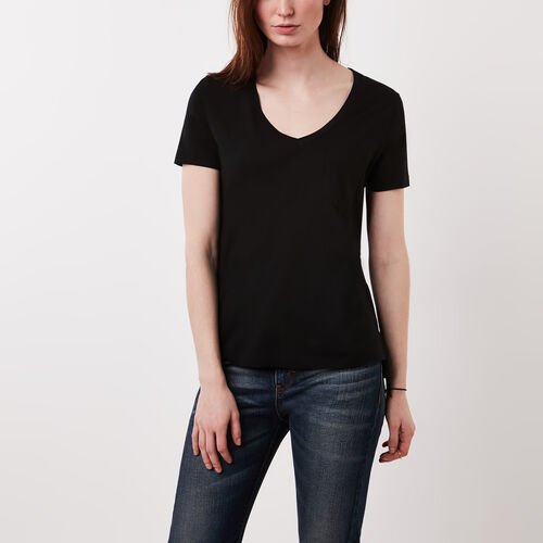 Roots-Women Bestsellers-Mackenzie Top-Black-A