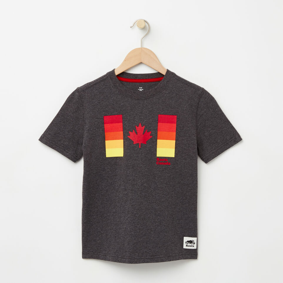 Roots-undefined-Boys Gradient Canadian Flag T-shirt-undefined-A