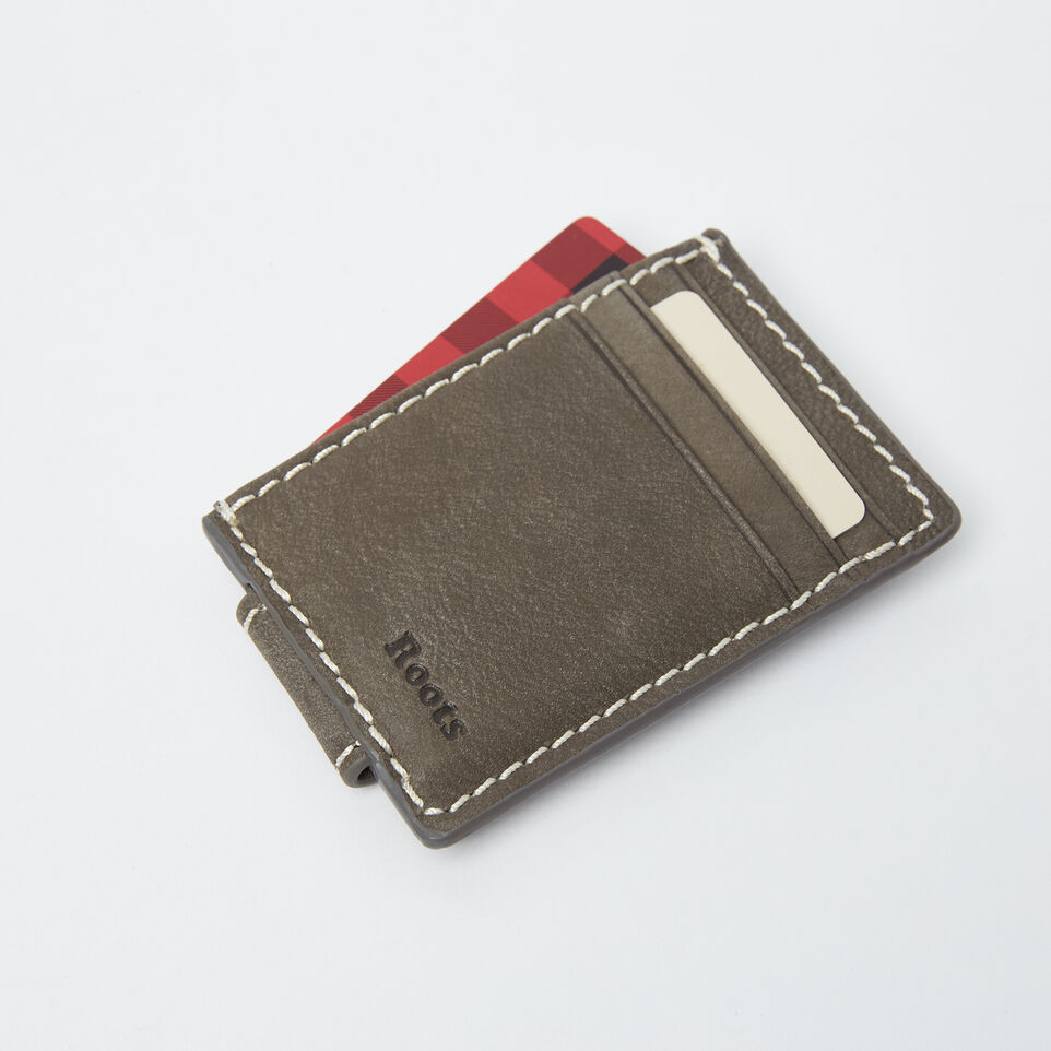 Roots-undefined-Mens Money Clip Card Holder Tribe-undefined-B
