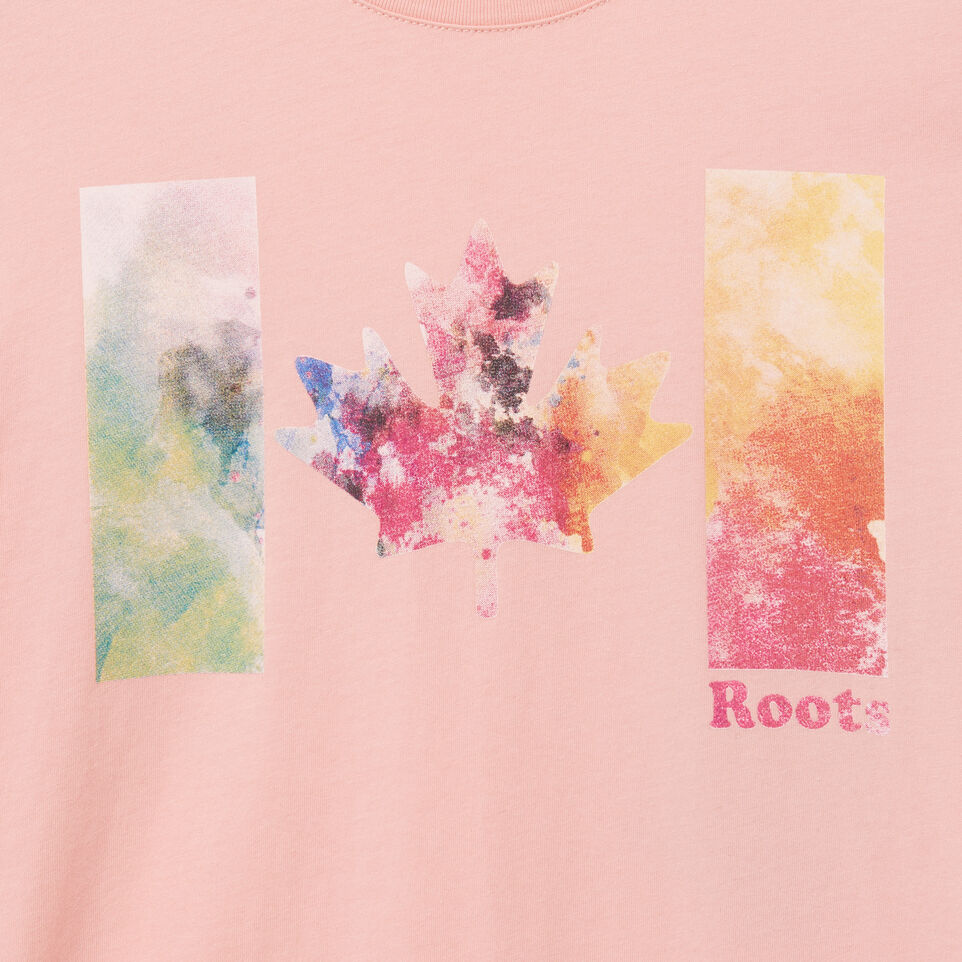 Roots-undefined-Womens Good Vibes T-shirt-undefined-D