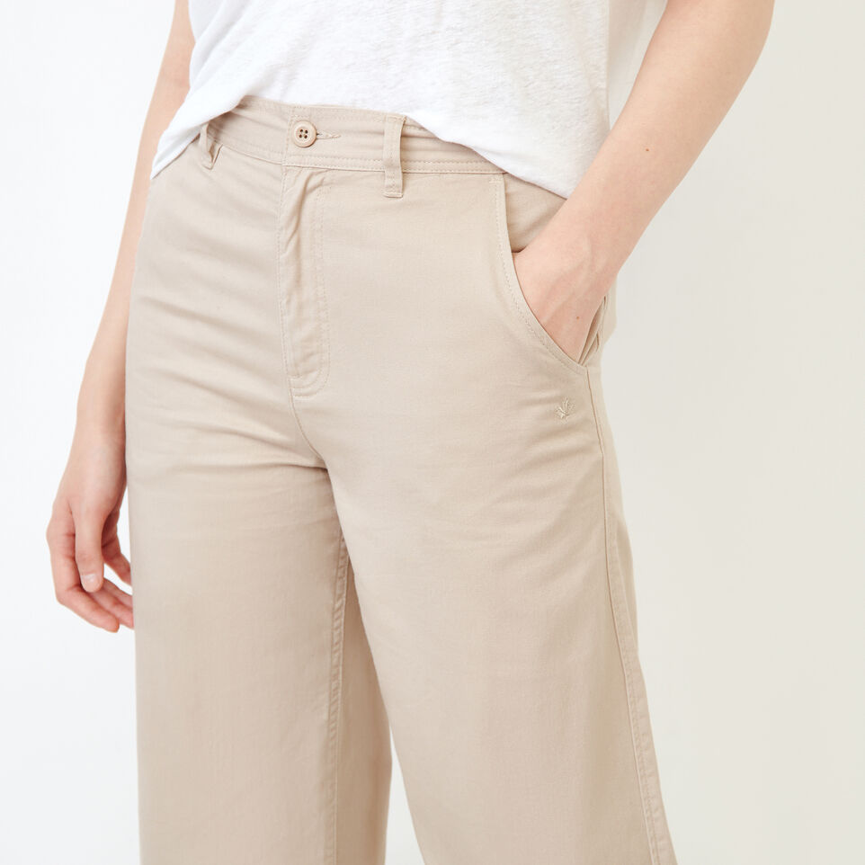 Roots-Women Categories-Widewater Pant-True Khaki-E