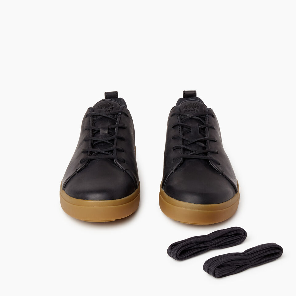 Roots-Footwear Our Favourite New Arrivals-Mens Parkdale Sneaker-Black-D
