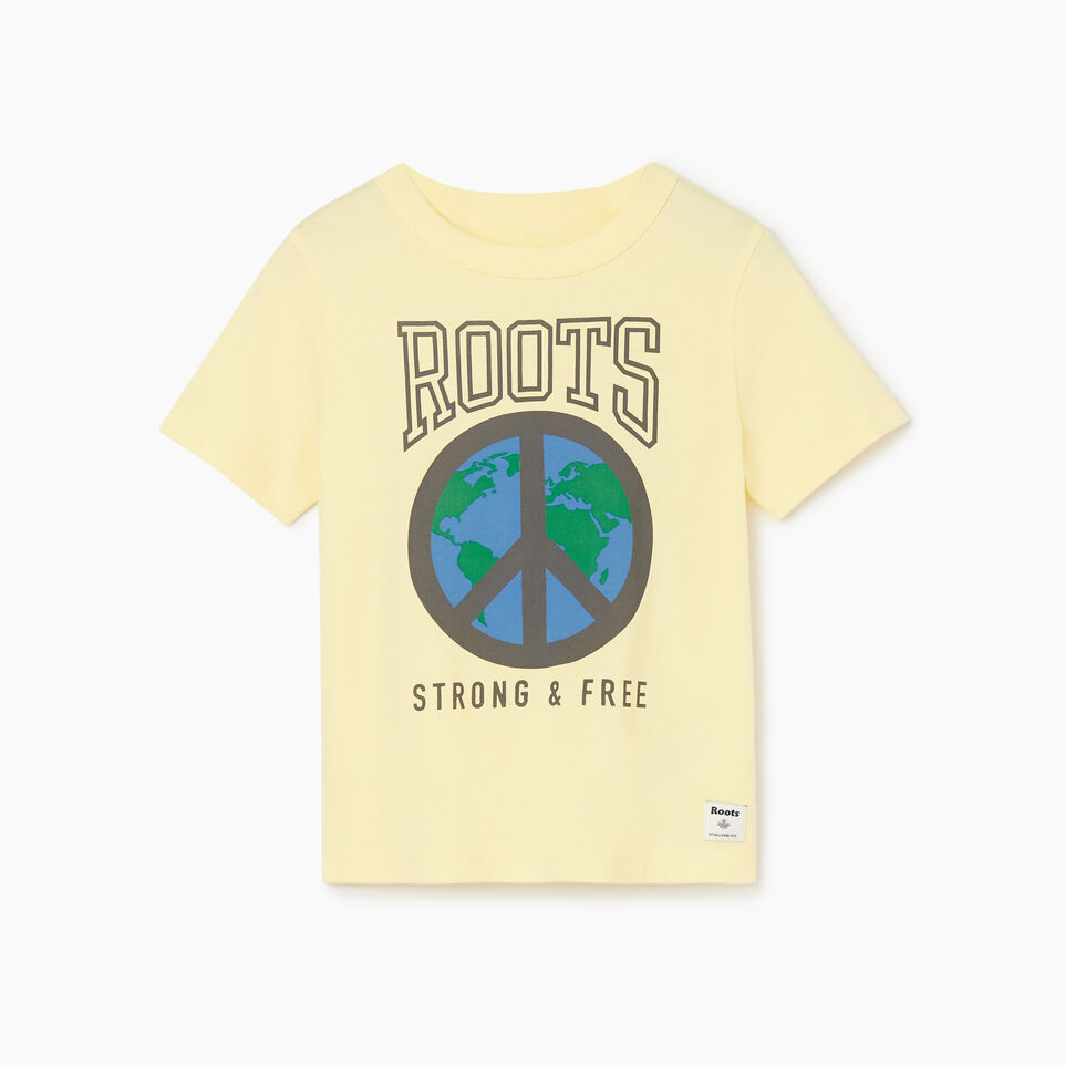 Roots-undefined-Toddler Roots Raiders Peace T-shirt-undefined-A