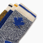 Roots-Kids Toddler Boys-Toddler Maple Sock 3 Pack-Blue-C