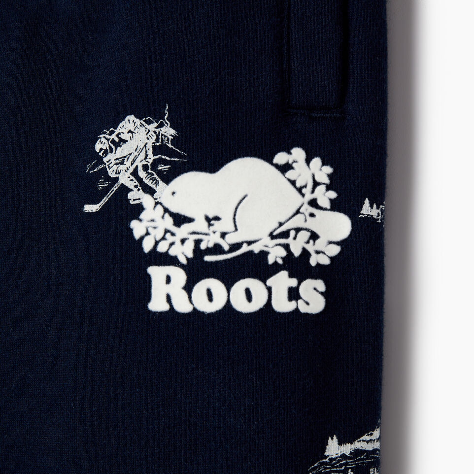 Roots-undefined-Boys Hockey Aop Sweatpant-undefined-C