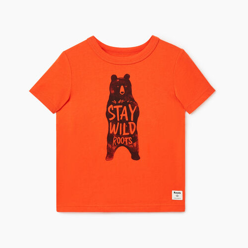 Roots-Kids Toddler Boys-Toddler Animal T-shirt-Spicy Orange-A