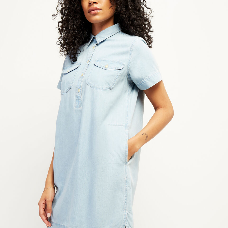 Roots-undefined-Sherbrook Chambray Dress-undefined-F