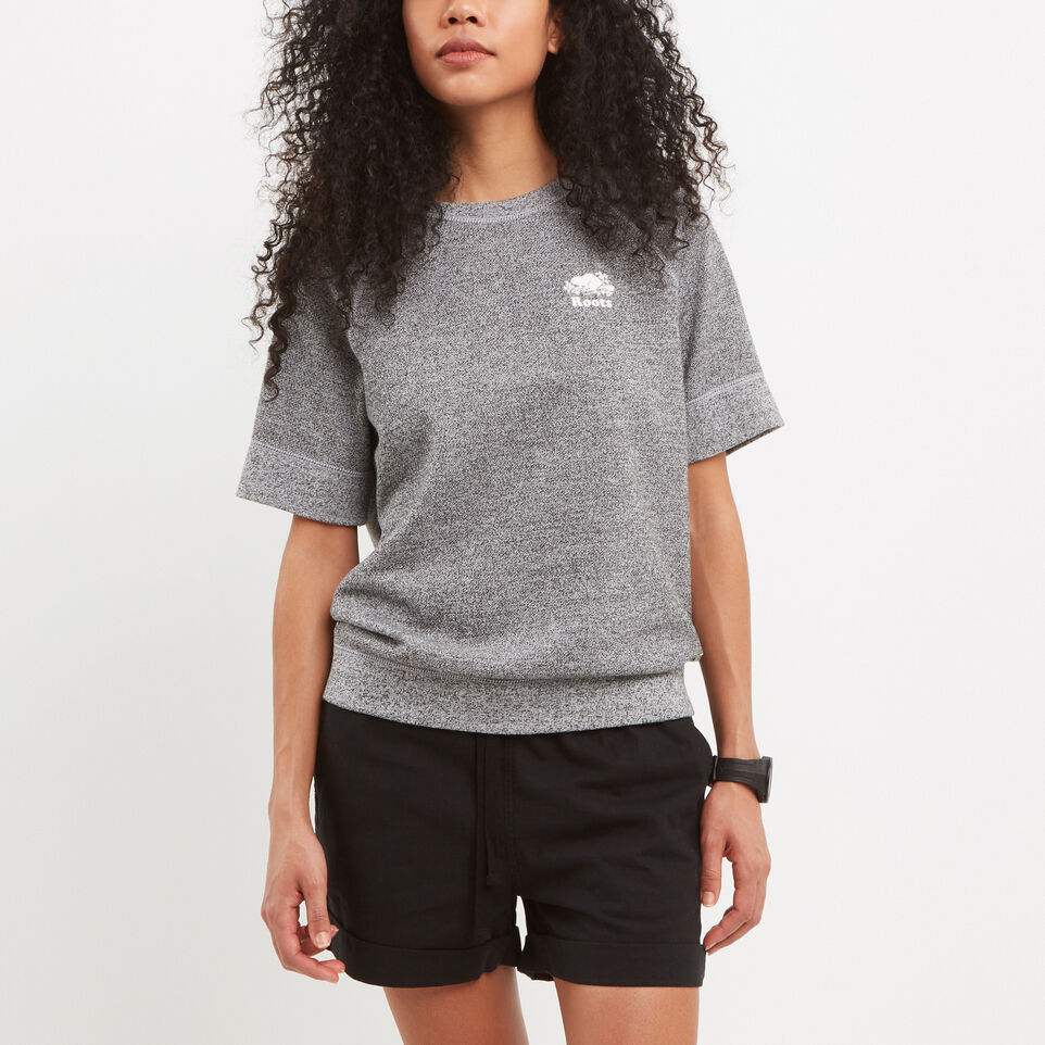 Roots-Shortsleeve Cooper Crewneck Sweatshirt