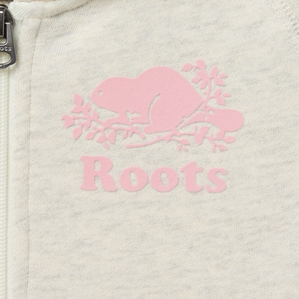 Roots-undefined-Girls Short Sleeve Hooded Dress-undefined-D