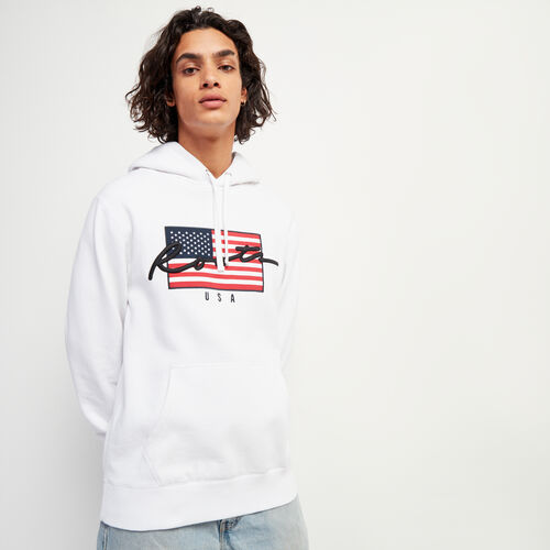 Roots-Sale Sweats-Script USA Kanga-Crisp White-A