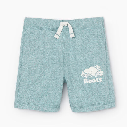 Roots-Kids New Arrivals-Toddler Original Roots Short-Mineral Blue Pepper-A