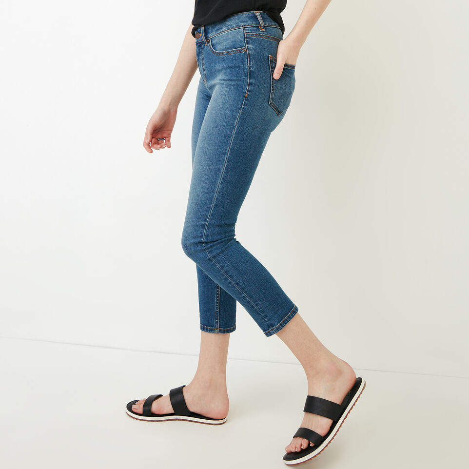 Roots-Women Categories-Cropped Stretch Riley Jean-Med Denim Blue-C
