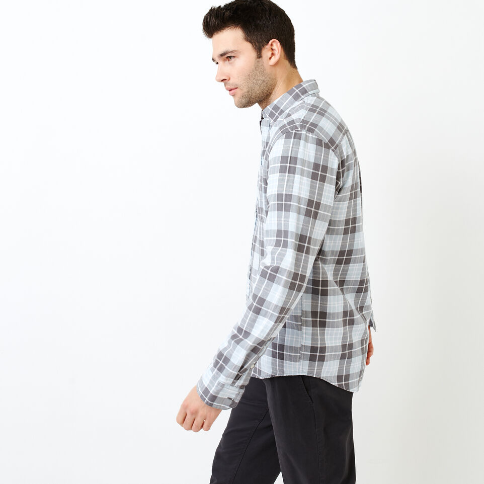 Roots-Men Shirts & Polos-Graveley Plaid Shirt-undefined-C