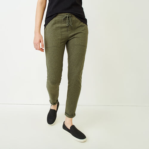 Roots-Women Categories-Kelby Jogger Pant-Loden Mix-A