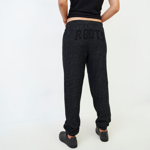 Roots-Women Categories-Original Boyfriend Sweatpant-Black Pepper-A