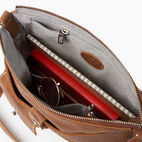 Roots-Leather  Handcrafted By Us Handbags-Canadian Villager-Natural-D