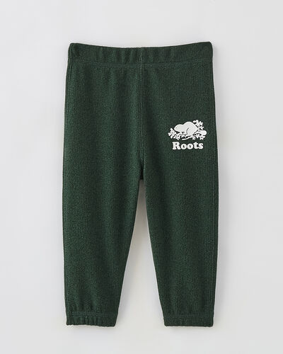 Roots-Kids Bottoms-Baby Original Sweatpant-Camp Green Pepper-A
