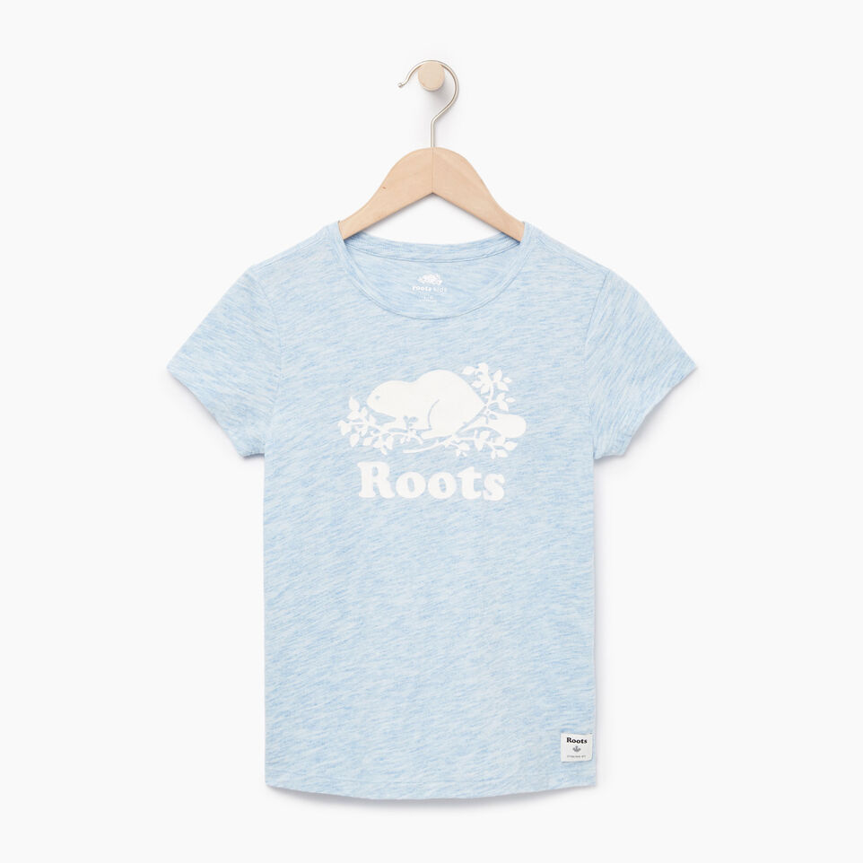 Roots-undefined-Girls Roots Space Dye T-shirt-undefined-A