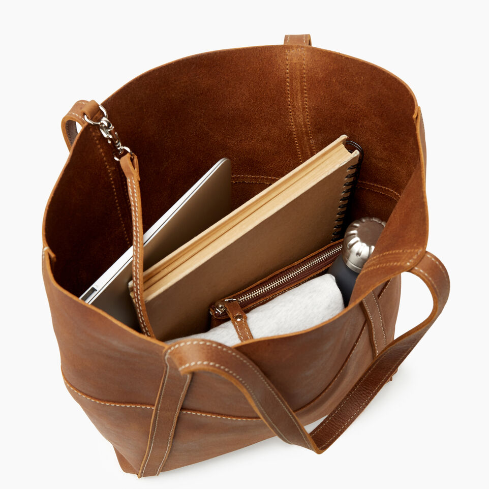 Roots-Leather New Arrivals-Westboro Tote-Natural-D