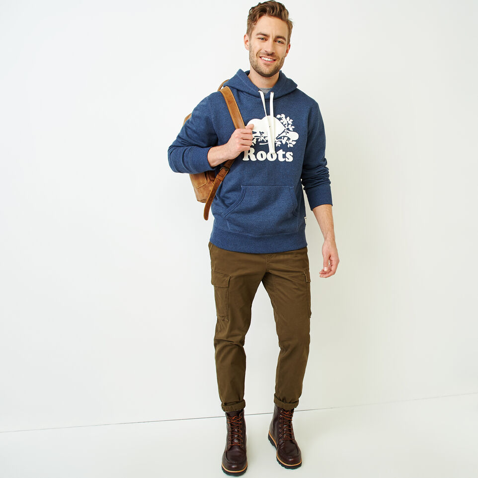 Roots-Men Our Favourite New Arrivals-Cooper Beaver Hoody-Bering Sea Pepper-B