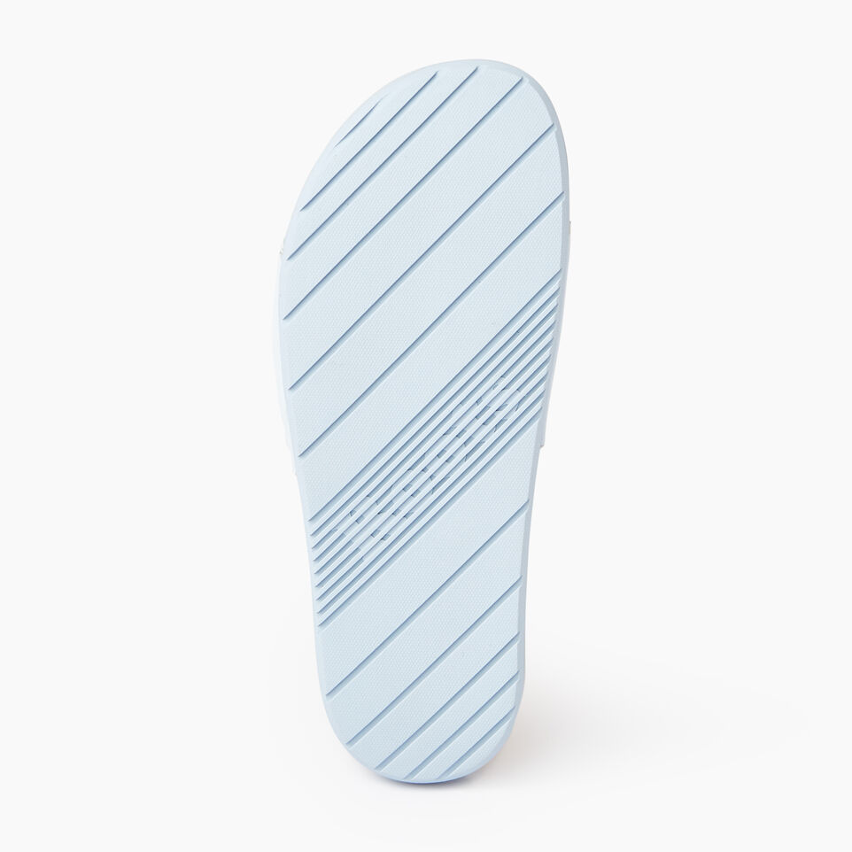 Roots-Footwear Our Favourite New Arrivals-Womens Long Beach Pool Slide-Baby Blue-C
