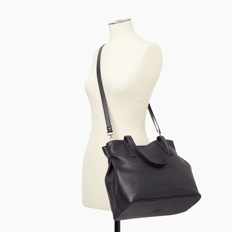 Roots-Leather New Arrivals-Amelia Tote Prince-Black-B