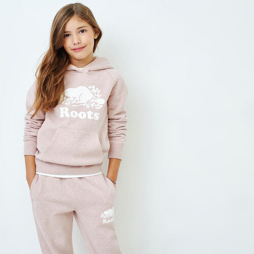 Roots-Kids Our Favourite New Arrivals-Girls Original Kanga Hoody-Deauville Mauve Mix-A
