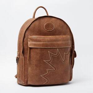 Roots-Leather Backpacks-Trans Canada Student Pack Tribe-Africa-A
