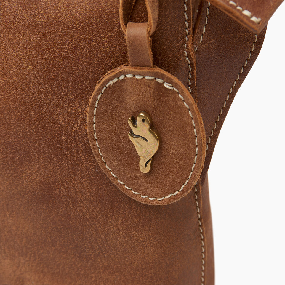 Roots-Leather  Handcrafted By Us Our Favourite New Arrivals-Journey Crossbody Tribe-Natural-F