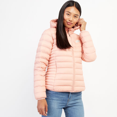 Roots-Women Outerwear-Roots Packable Jacket-Peachskin-A