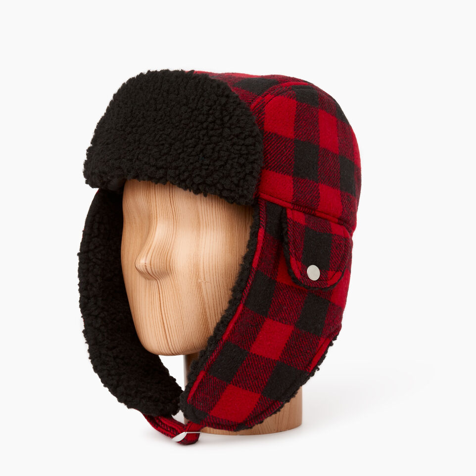 Roots-undefined-Roots Park Plaid Trapper Hat-undefined-B