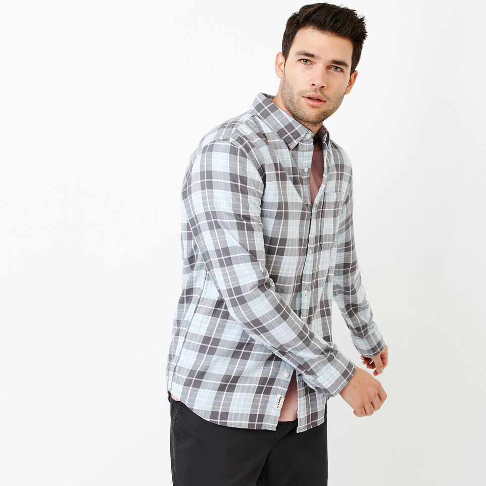 Roots-Men Shirts & Polos-Graveley Plaid Shirt-undefined-A