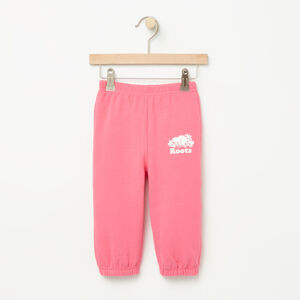 Roots-Sale Baby-Baby Roots Sweatpant-Pink Flambé-A