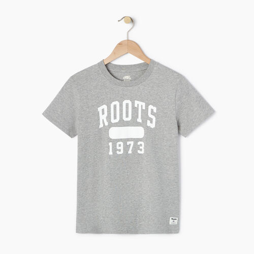 Roots-Women Our Favourite New Arrivals-Womens Block 1973 Canada T-shirt-Grey Mix-A
