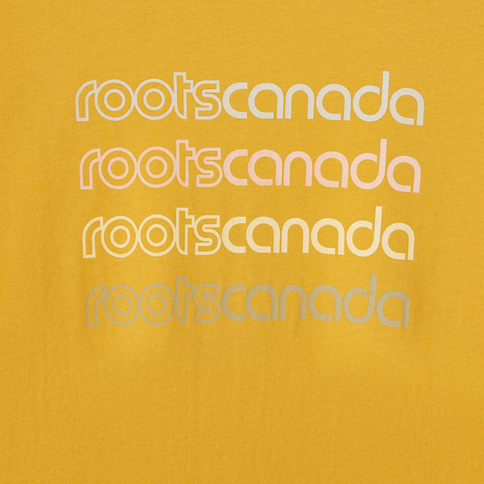 Roots-New For July Daily Offer-Womens Burnaby T-shirt-Medallion-D
