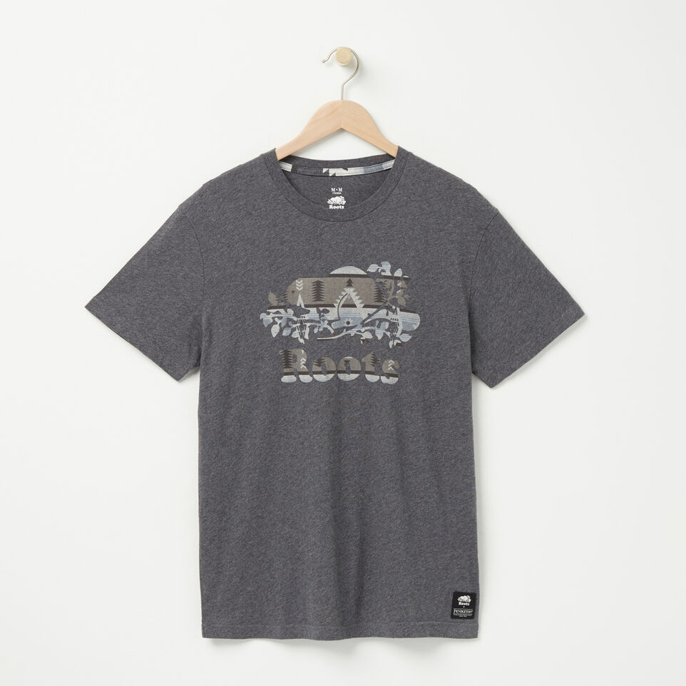 Roots-undefined-Mens Pendleton T-shirt-undefined-A