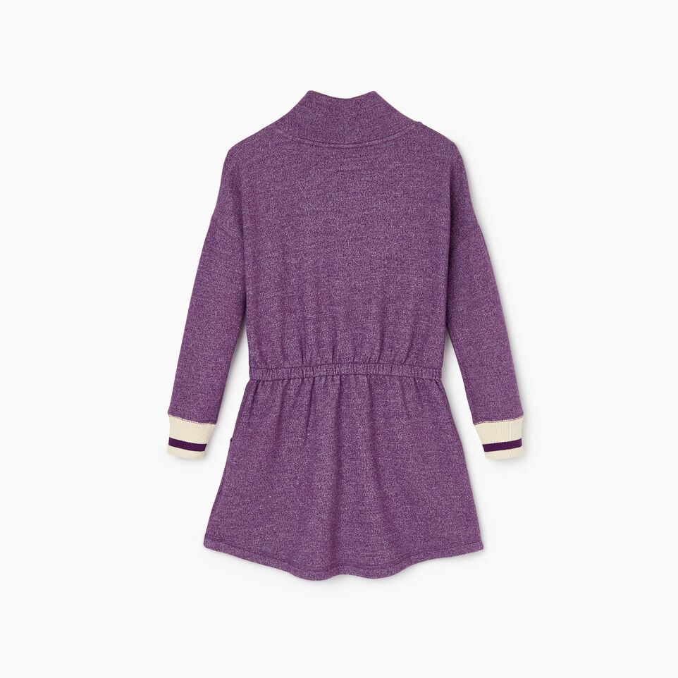 Roots-Kids Categories-Girls Buddy Cozy Fleece Dress-Grape Royale Pepper-B
