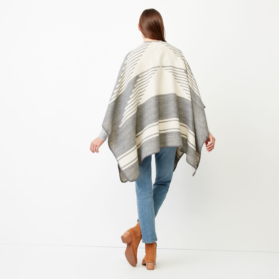 Roots-Women Our Favourite New Arrivals-Tolman Wrap-Grey Mix-D