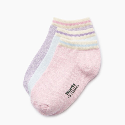 Roots-Kids Our Favourite New Arrivals-Kids Cabin Ped Sock 3 Pack-Pastel Lavender-A