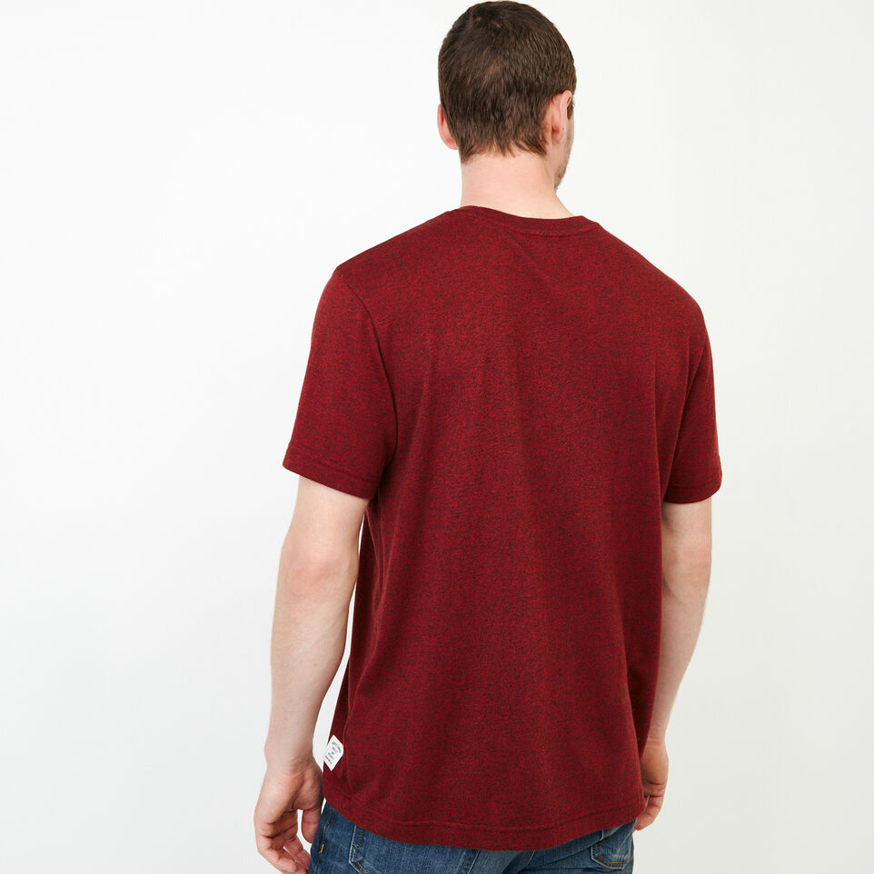 Roots-Men Our Favourite New Arrivals-Perfect Pepper T-shirt-Sundried Tomato Ppr-D