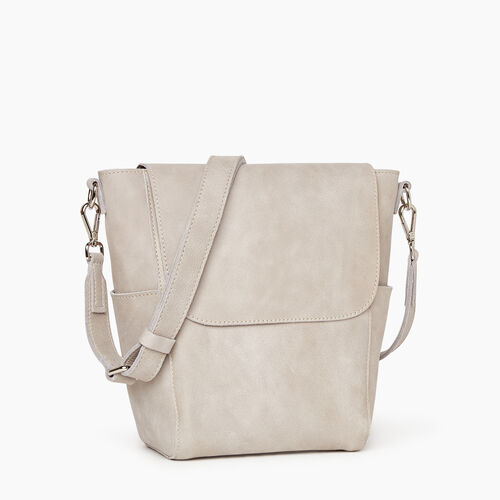 Roots-Leather  Handcrafted By Us Our Favourite New Arrivals-Small Journey Bag-Sterling Grey-A