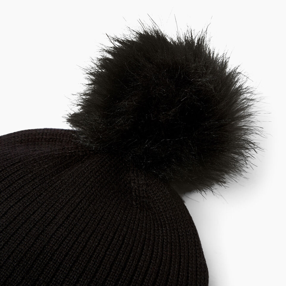 Roots-undefined-Dorval Faux Fur Pom Pom Toque-undefined-D