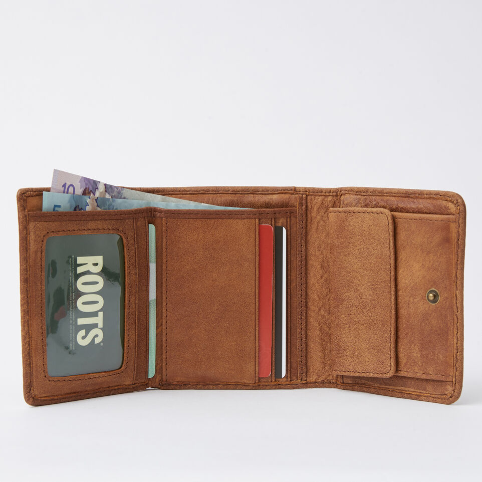 Roots-undefined-Easy Trifold Wallet Tribe-undefined-B